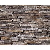 Natural Stone Slate Effect Wallpaper (9142-17)