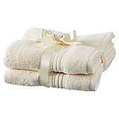 Hygro Cotton 2 Pack Hand Towels - Ivory