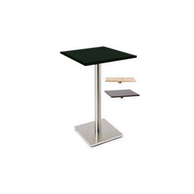 Home Essence Luxor 600 Square Bistro Table - Black