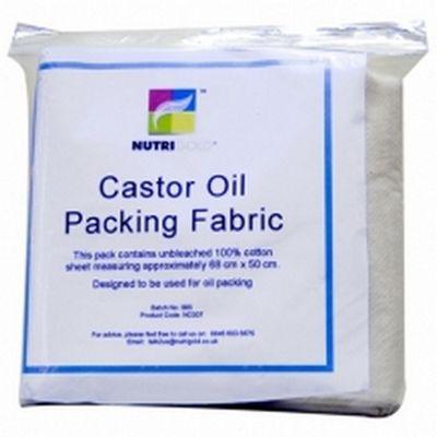 Nutrigold Castor Oil Packing Fabric (1 Cloth)