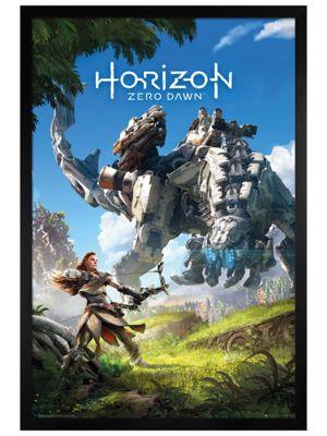 Black Wooden Framed Horizon Zero Dawn Maxi Poster 61 x 91.5cm