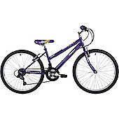 "Freespirit Trouble 24"" Wheel Junior Mountain Bike Purple"