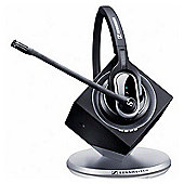 Sennheiser Pro 1 Wireless DECT Mono Headset - Over-the-head - Semi-open - Black