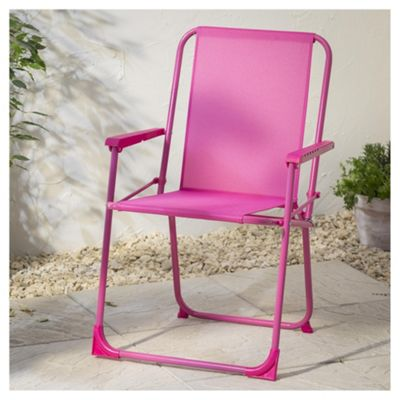 Buy Folding Picnic Chair Pink From Our Outdoor Chairs