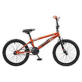 Rooster Radical 20 BMX Bike Orange/Black with Spoke Wheels