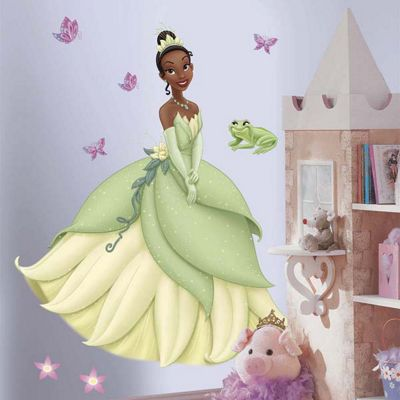 Disney Princess & The Frog Princess Tiana Giant Wall Sticker