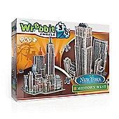 New York City - Midtown West - 3D Puzzle