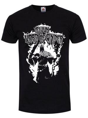 Lord Of Cinder Men's T-shirt, Black.