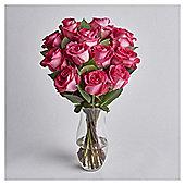 Dozen Luxury Pink Roses