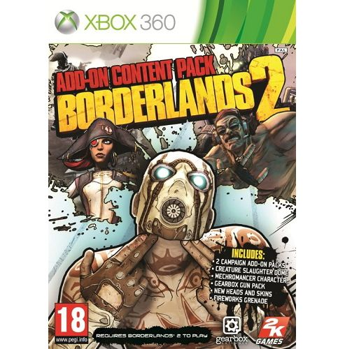Borderlands 2 Add On Content Pack