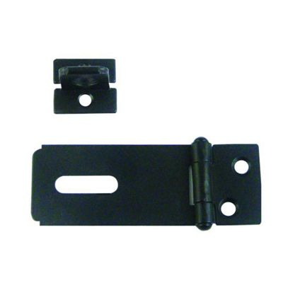 CROMPTON 617 Hasp & Staple - 114mm BLK