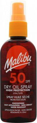 Malibu Sun Dry Oil Spray 100ml SPF50
