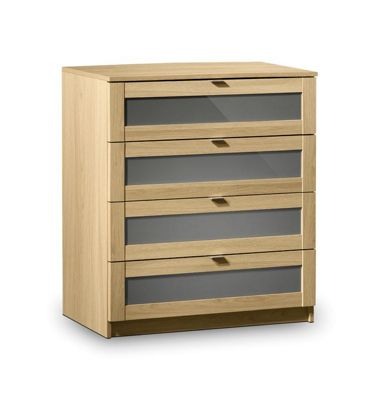 Julian Bowen Strada 4 Drawer Chest