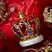 Glass Crown Bauble