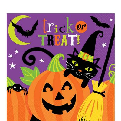Witches Crew Napkins - 16 Pack