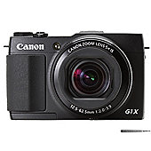 Canon PowerShot G1 X Mark II 12.8 MP Compact Digital Camera - Black
