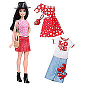 Barbie Fashionistas Pizza Pizzazz Doll with Fashion Outfits