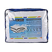 Homescapes Luxury Hotel Quality Super Microfibre All Seasons (9 Tog + 4.5 Tog) King Size Duvet Quilt