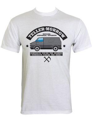 Teller-Morrow Repairs White Men's T-shirt
