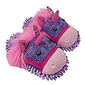 Aroma Home Fuzzy Feet Slippers - Unicorn