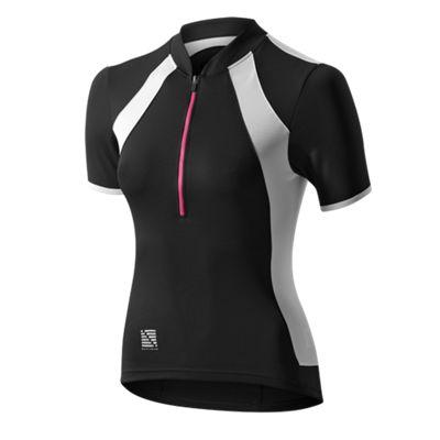 Altura Spirit Short Sleeve Womens Jersey Black/White Size: 12