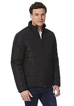 F&F Shower Resistant Puffer Jacket - Black