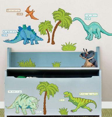 Dinosaur Decor Stickers