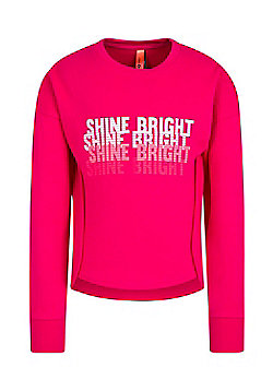 Zakti Girls Kids All Day Sweat Lightweight Shirt with Highly Breathable Fabric - Pink