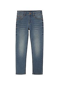 F&F Skinny Stretch Jeans - Blue