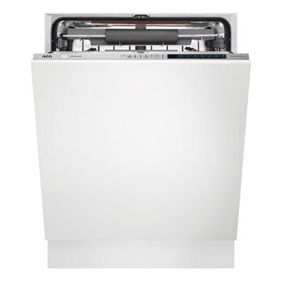 FSE83710P Integrated Dishwasher with 15 Place Setting Capacity and 8 Programmes in White