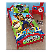 Paw Patrol Rescue Junior Toddler Bed & Foam Mattress