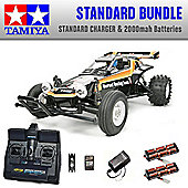 TAMIYA The Hornet RC Car Standard Bundle 2x Batteries 58336