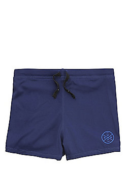 F&F Surf Patch Swimming Trunks - Navy