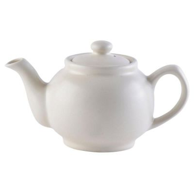 Price & Kensington Two-Cup Teapot Matt Cream