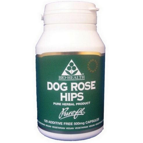 Bio Health Dog Rose Hips 120 Veg Capsules