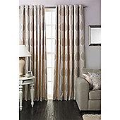Riva Home Dalby Eyelet Curtains - Natural