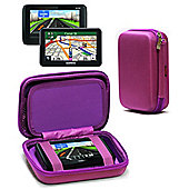 Navitech Hard Carry Case Purple For The TomTom GO 510 5inch