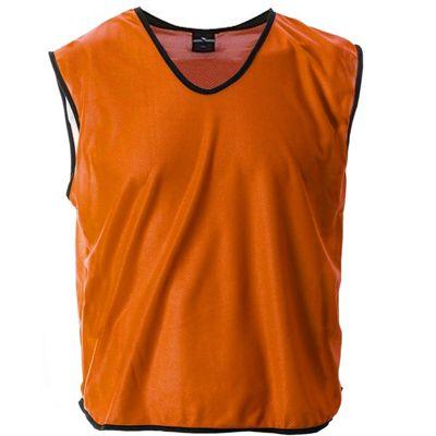 Mesh Football Rugby Sports Training Tank Top Sports Bib Orange - L/XL