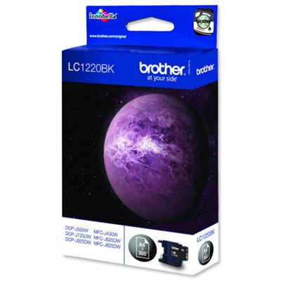 Brother LC 1220BK Ink Cartridge Black