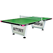 Butterfly Playground Outdoor Table Tennis Table (Green)