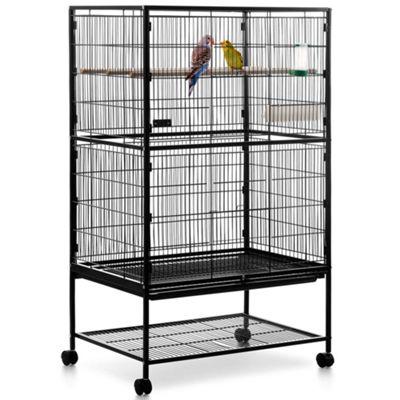 Milo & Misty 2 Tier Large Metal Aviary Bird Cage