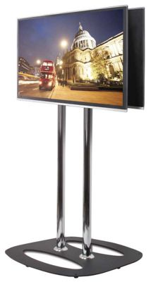 Flat Screen Back-to-Back Display Stand - 11m