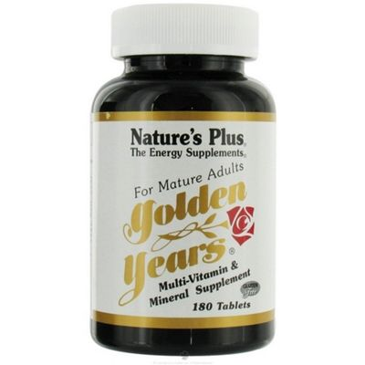 Nature's Plus Golden Years Multi-Vitamin Tablets