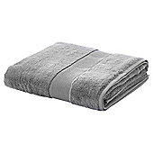 WEST PARK 600gsm EGYPTIAN COTTON BATH SHEET CHARCOAL