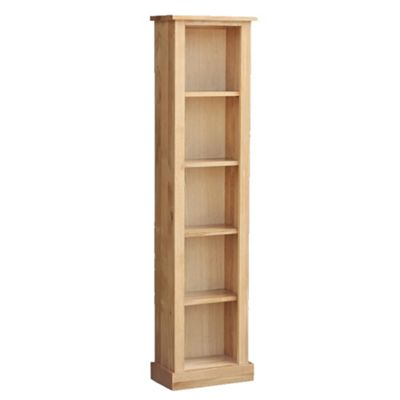 Stratton Oak High Column Bookcase
