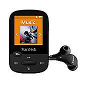 SanDisk Clip Sport Black 8 GB MP3 Player
