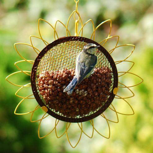 Flower peanut feeder