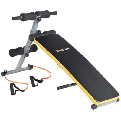 Gold Coast Curved Sit up Fitness Weight Bench