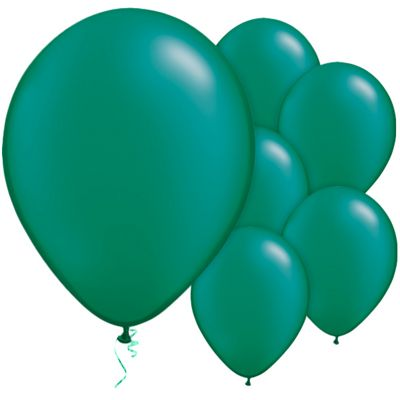 Emerald 11 inch Latex Balloons - 25 Pack