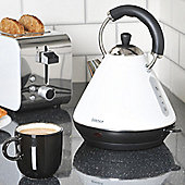 Igenix IG740WH 1.8 Litre Pyramid Kettle - White